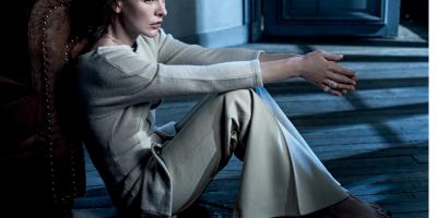 Фотосессия, Milla Jovovich, Vogue Portugal, декабрь 2016