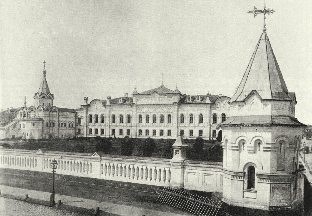 197. Здание архива Министерства иностранных дел, вид с Моховой.1878-1880