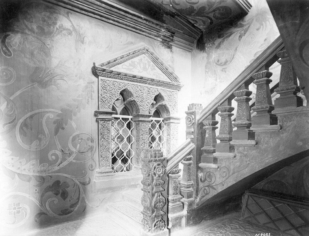 Теремной дворец. Парадное крыльцо Думной палаты