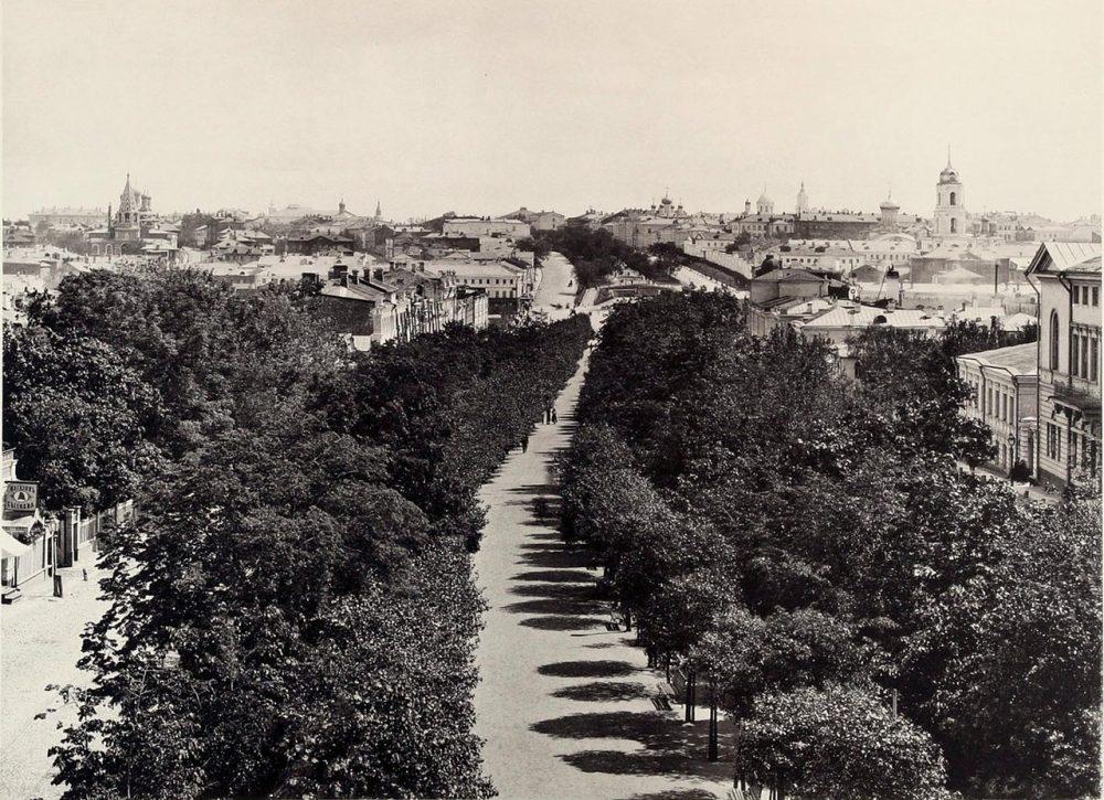 283. Вид Петровского Бульвара