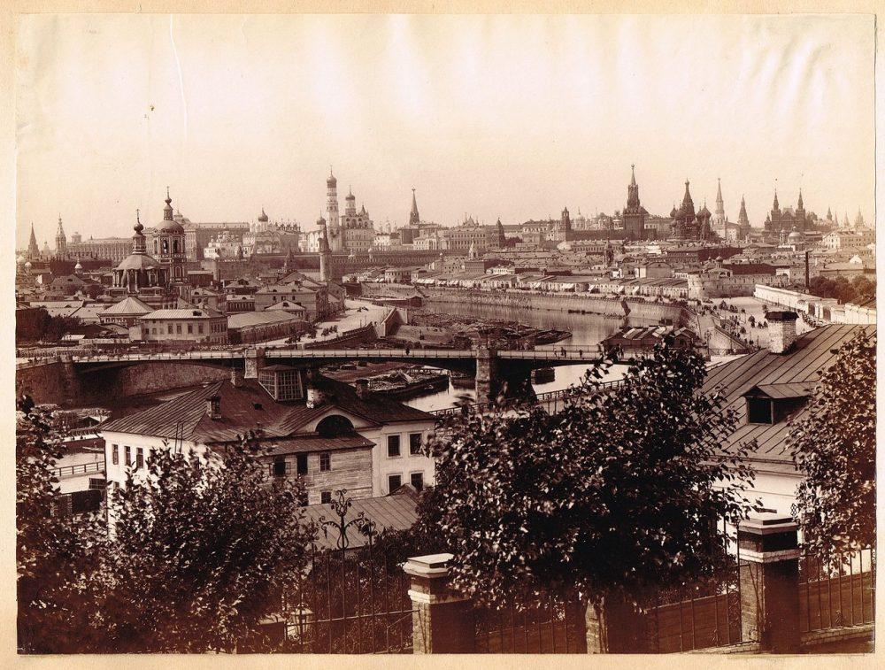 761. Панорама Москвы. 1880