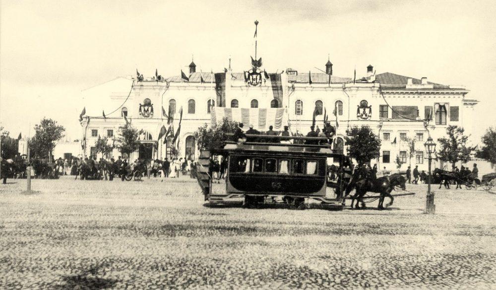 233. Старое здание Ярославского вокзала.1896