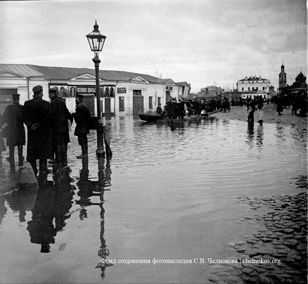 723. Наводнение. 10-14 апреля 1908