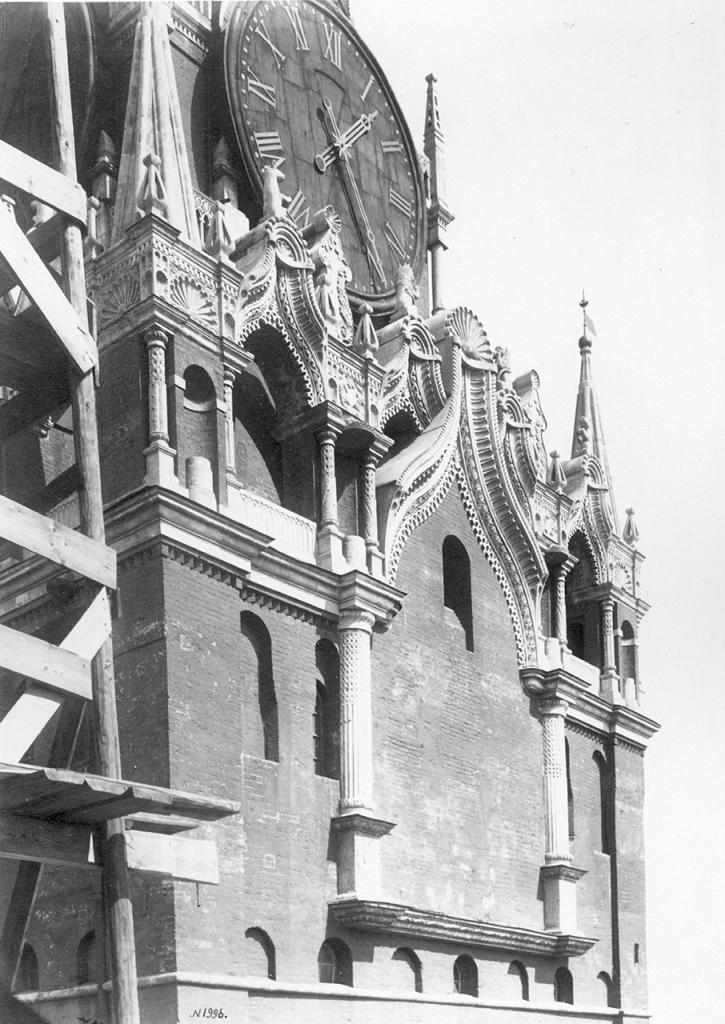 Спасская башня. Деталь