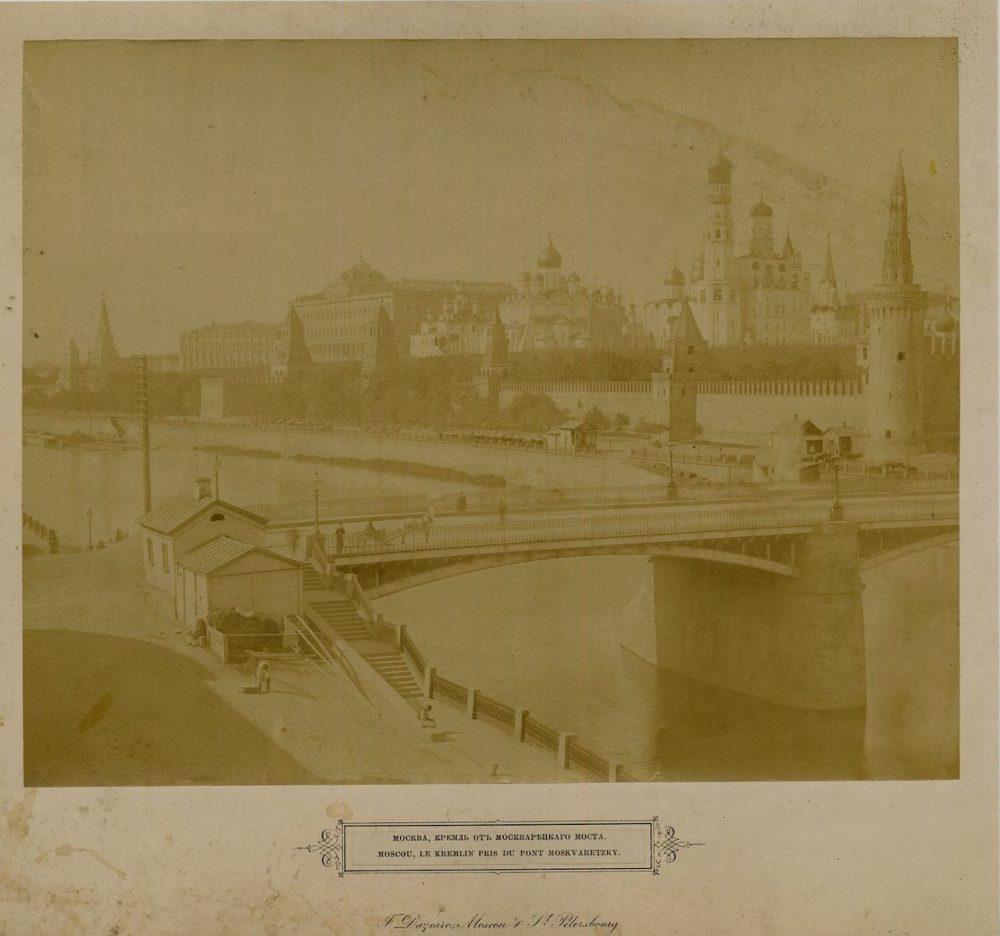 107. Кремль от Москворецкого моста