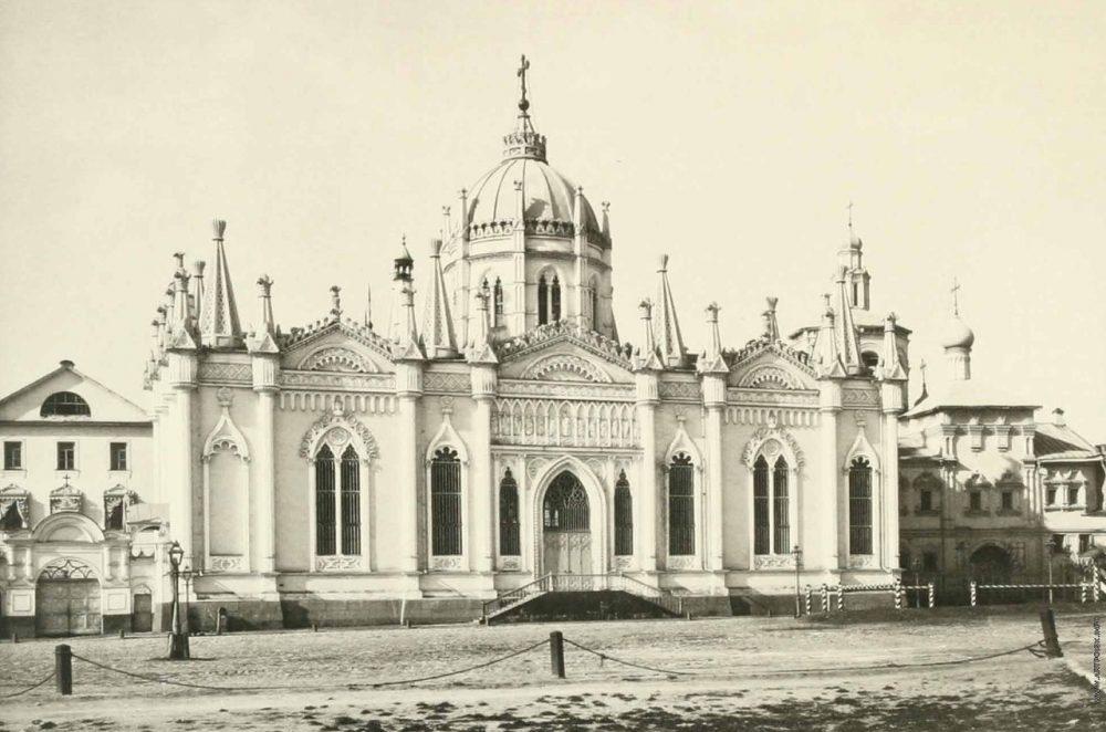 81. Екатерининская церковь Вознесенского монастыря в Кремле