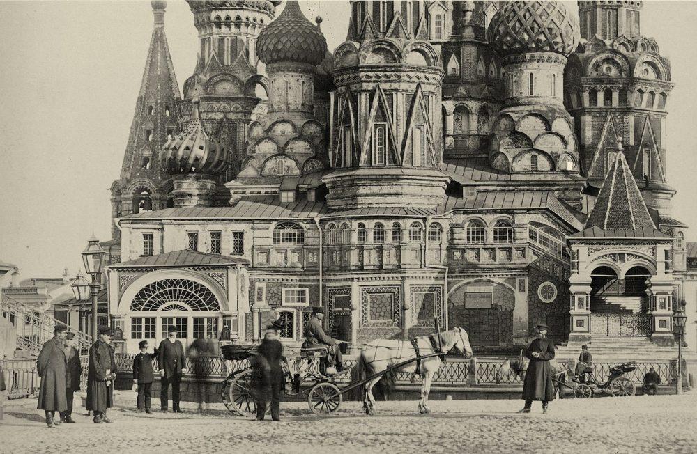 158. Собор Василия Блаженного (фрагмент)