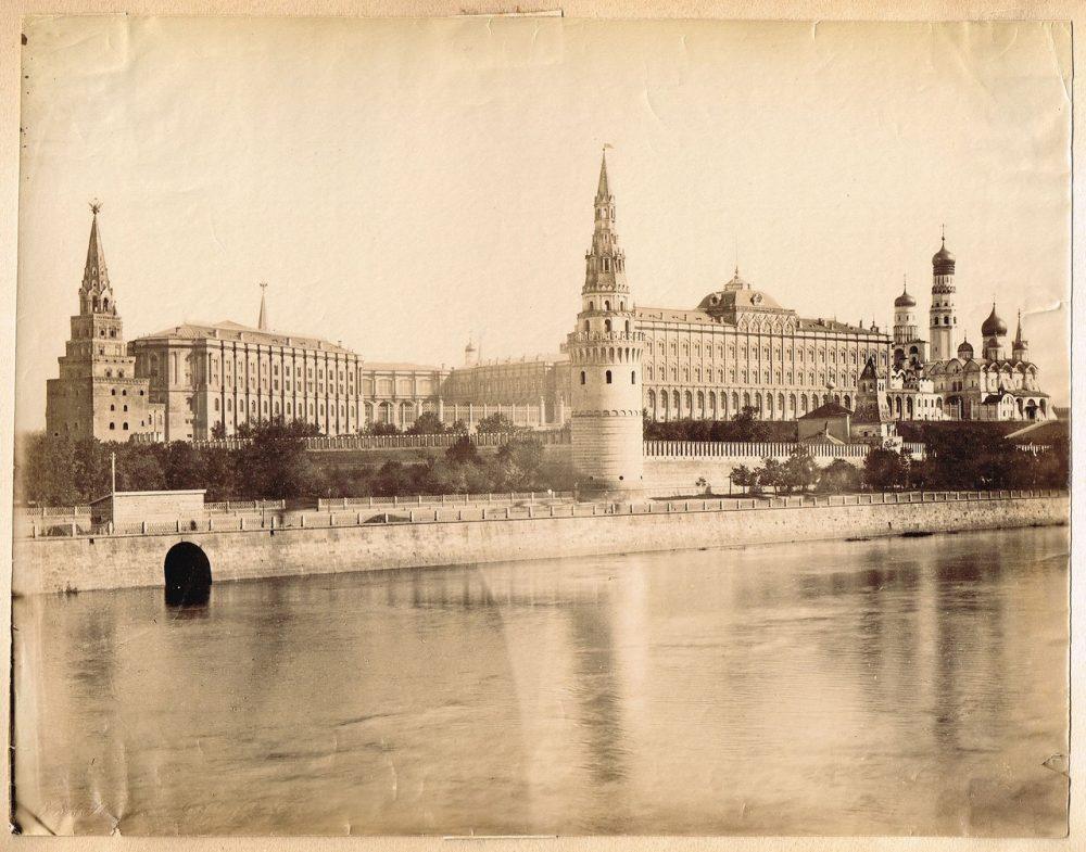 750. Кремль и Москва-река (прибл. 1870-1880)