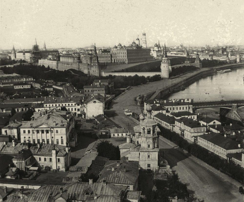191. Вид с Храма Христа Спасителя. 1860