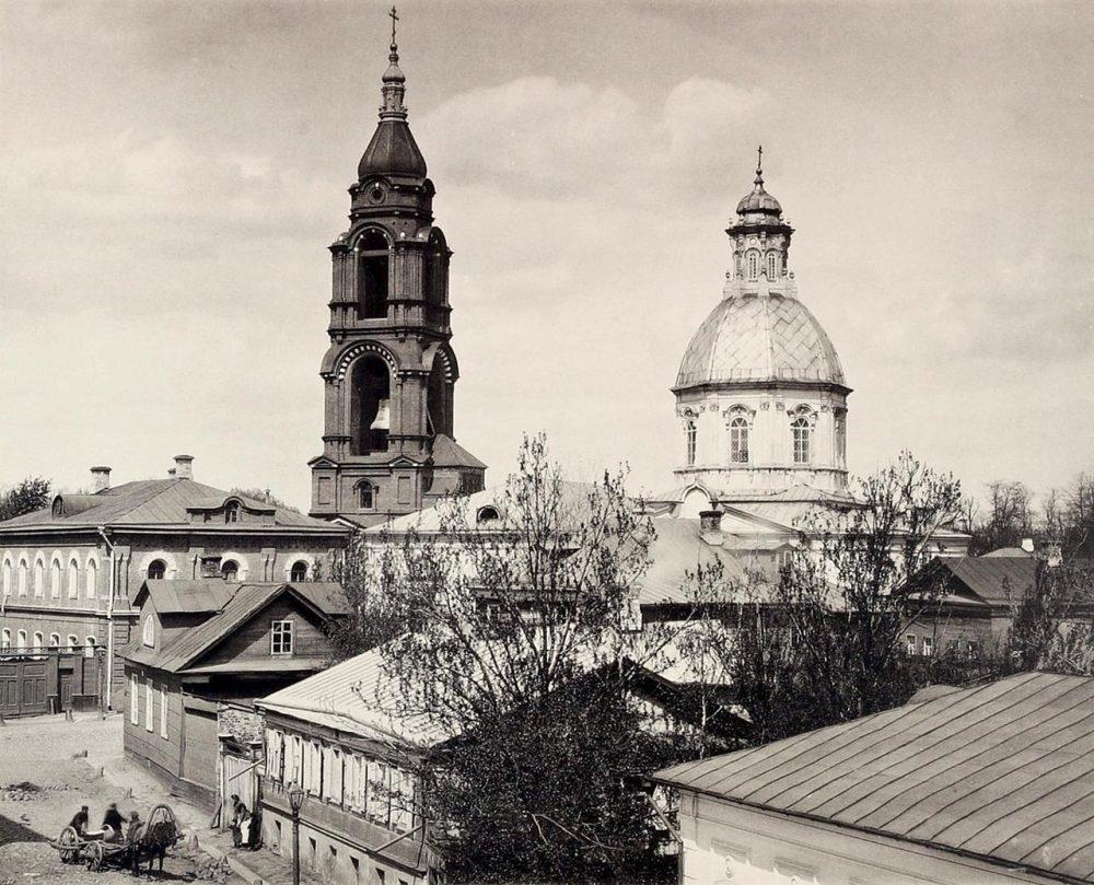 310. Вид церкви Спаса Преображения
