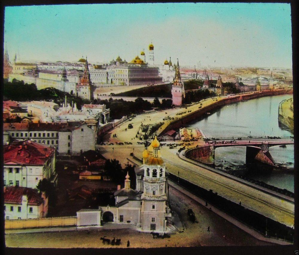 743. Вид на Кремль. 1910