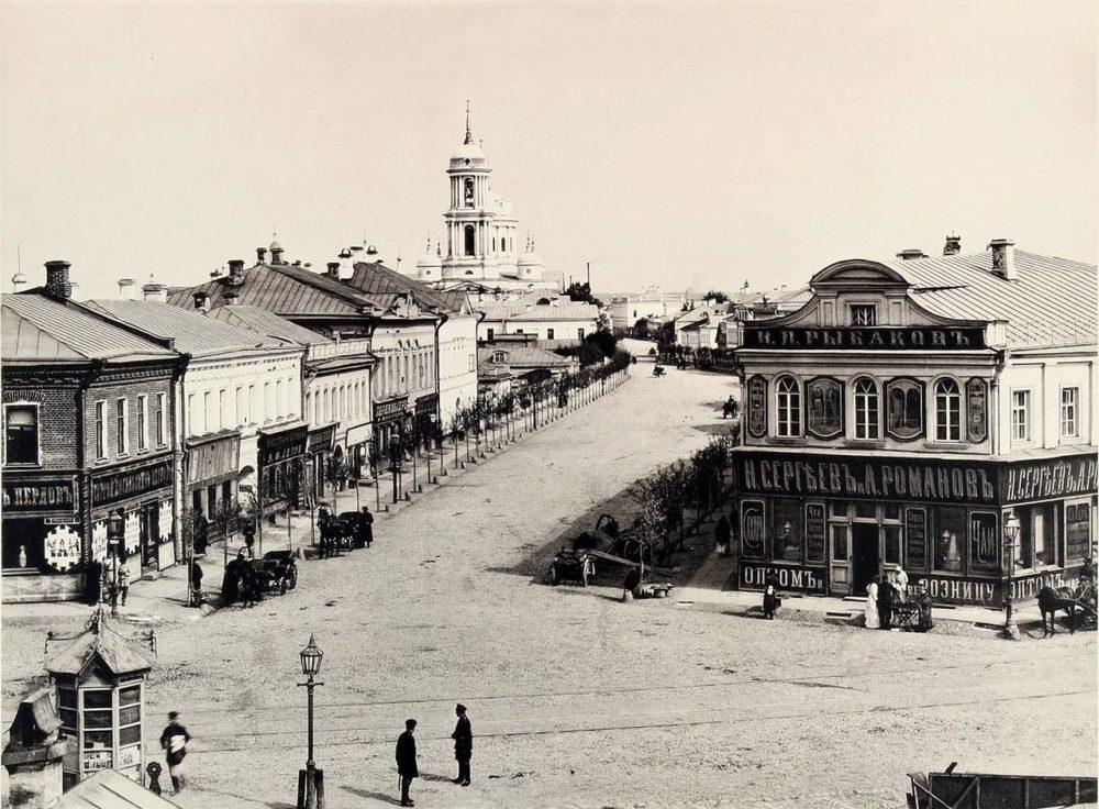 305. Вид Большой Алексеевской улицы от Таганки