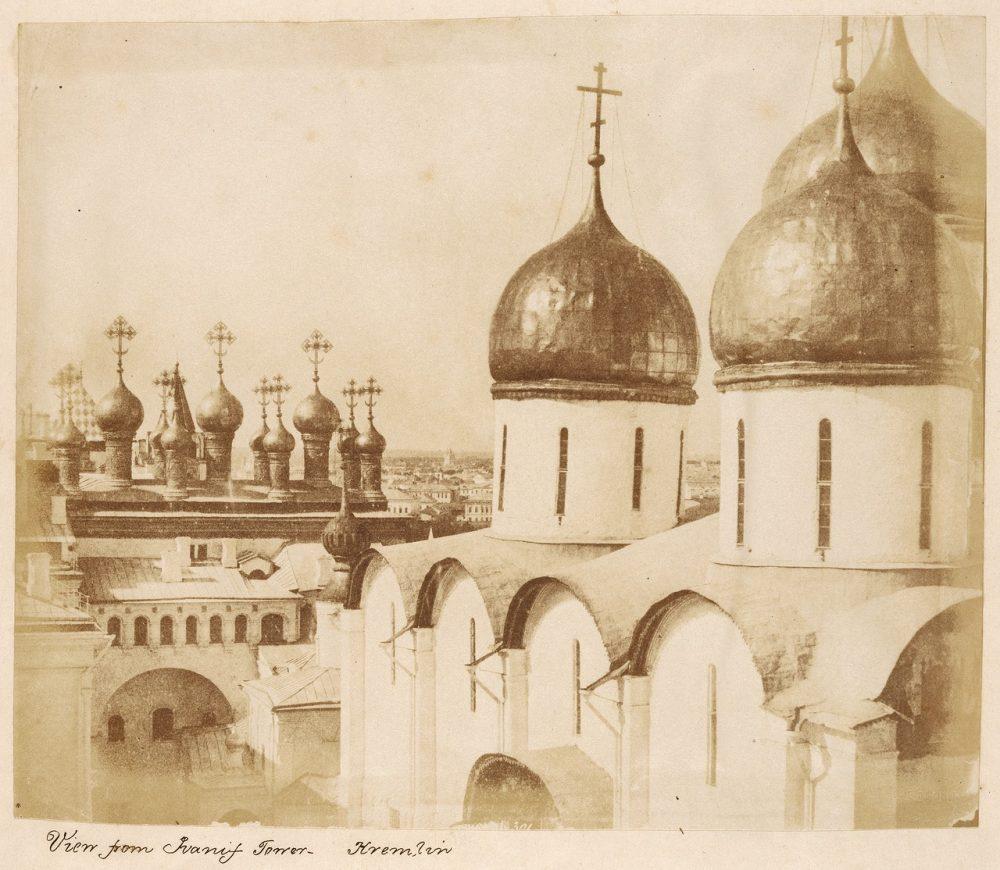 77. Вид с колокольни Ивана Великого. 1852