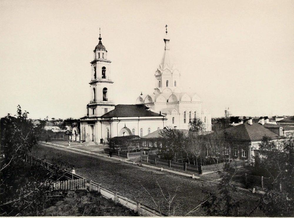 306. Вид местности близ церкви Животворящей Троицы на Шаболовке