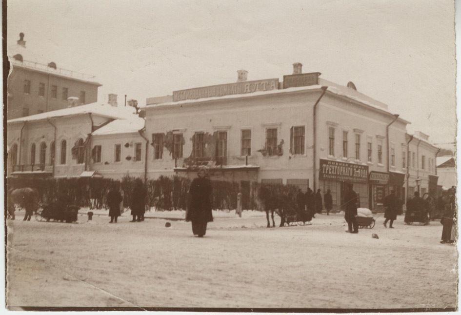 145. Меблированные комнаты на Садовом бульваре. Около 1900