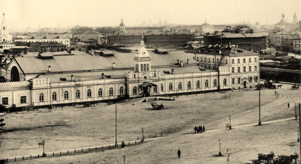 231. Станция Московско-Рязанской железной дороги .1888
