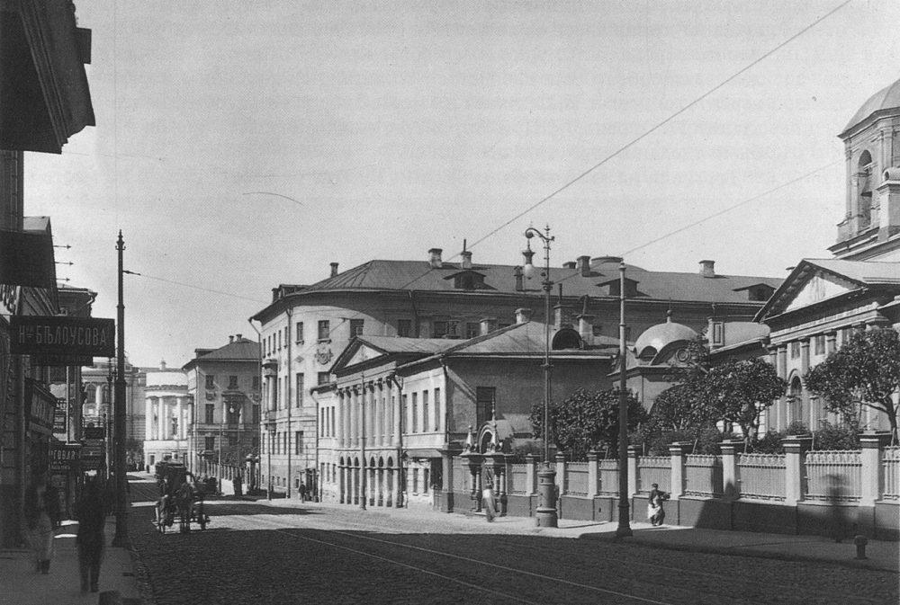 207. Моховая улица.1907