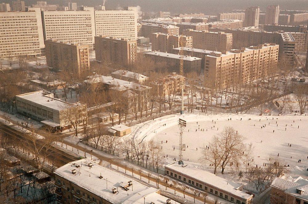Москва. Каток