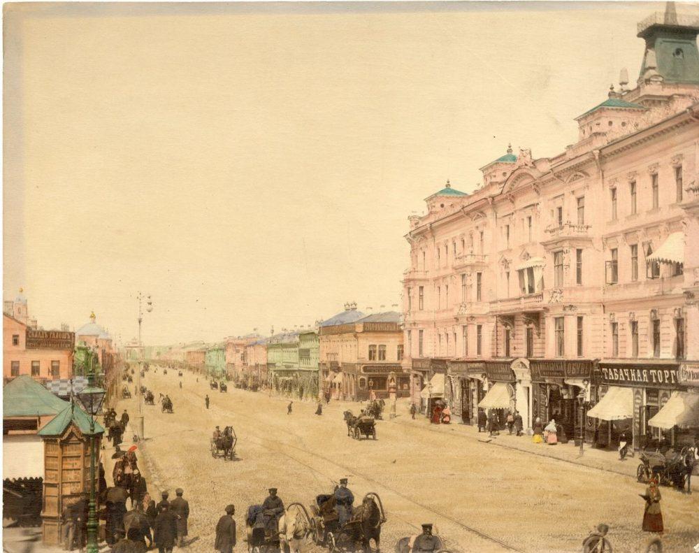 1-я Тверская-Ямская улица от Триумфальной площади
