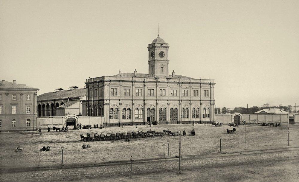 206. Николаевский вокзал.1870