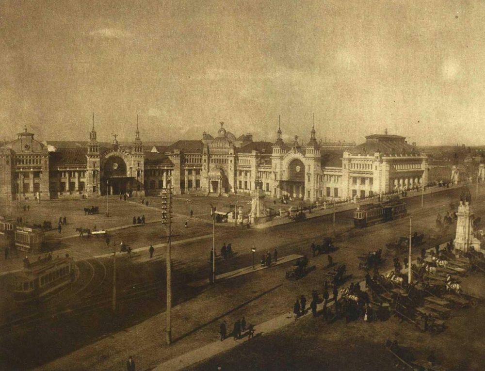 73. Брестский вокзал. 1911