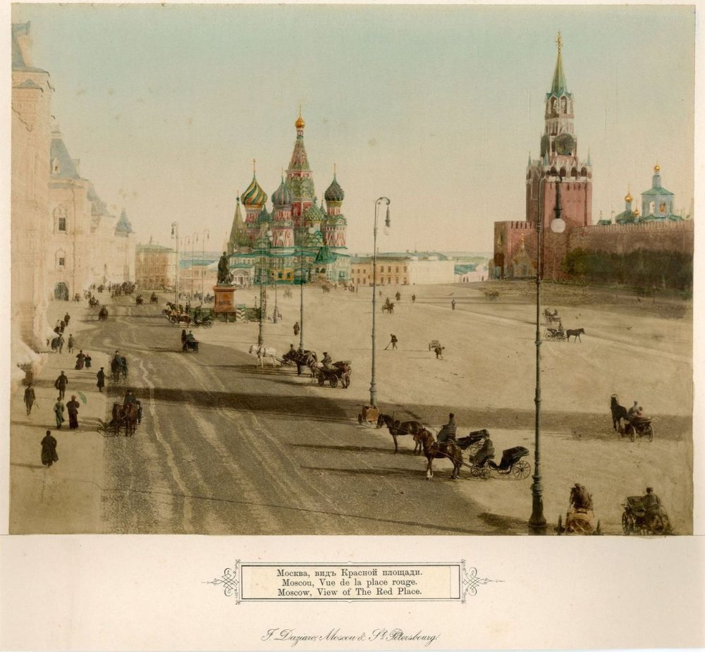 Вид Красной площади