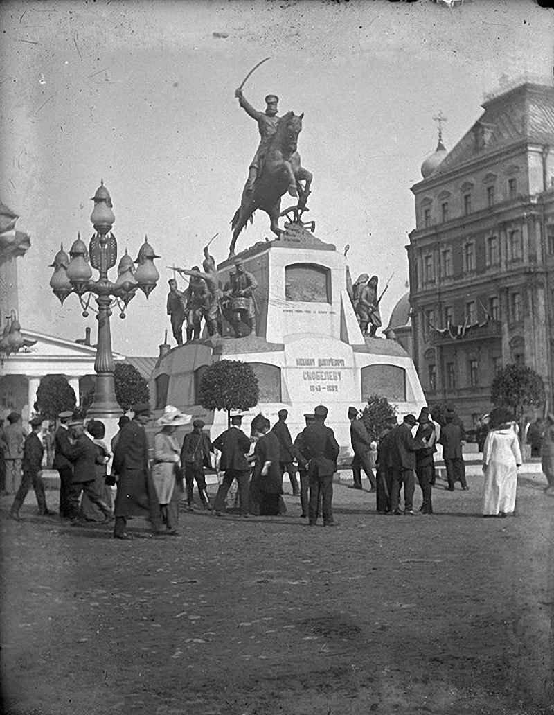 89. Памятник генералу Скобелеву