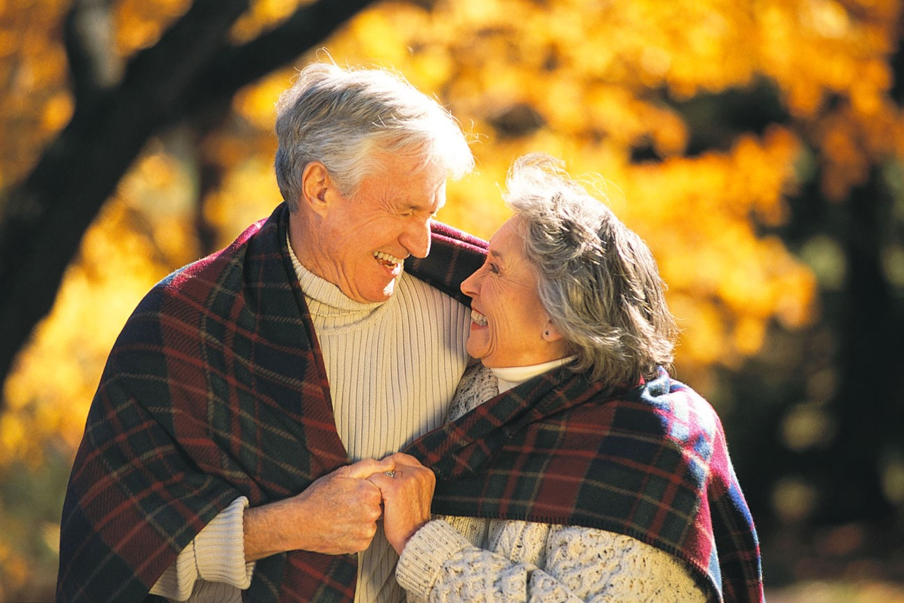 Открытка для людей пожилого возраста