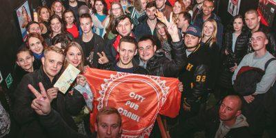 Тур по барам от City Pub Crawl Moscow
