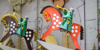 Постоянная экспозиция Музея декоративно-прикладного и народного искусства «Мастер игры»