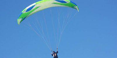 Полёт на параплане от клуба Free Fly Team