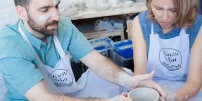 Свидание в гончарной мастерской