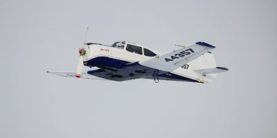 Полёт на самолёте Як-18Т в клубе «Русавиа»