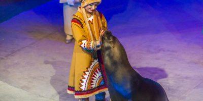 Спектакль «По следам Снежной королевы» в Театре «Уголок дедушки Дурова»