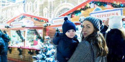Рождественская ярмарка на Красной площади — ГУМ-Ярмарка