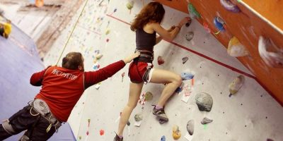 Занятие StartUp Climber на скалодроме Big Wall
