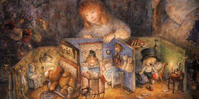 """Выставка «Каждый вечер перед сном: Юрий Норштейн и """"Спокойной ночи, малыши!""""»"""