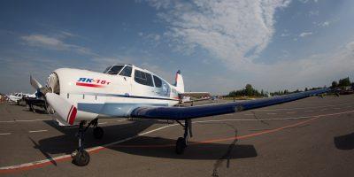 Полёт на самолёте Як-18Т с управлением самолётом от компании Fly-Zone со скидкой до 40%