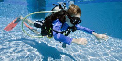 Дайвинг-курс PADI или CMAS для детей в клубе Lets Dive