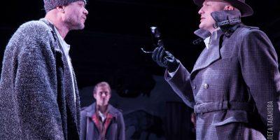 Спектакль «В ожидании варваров» в Театре под руководством Олега Табакова