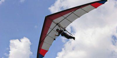 Полёт на дельтаплане в клубе «Альбатрос»