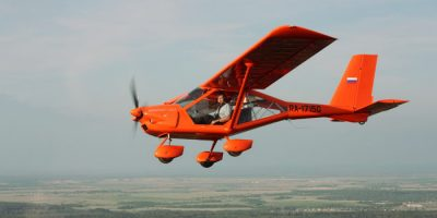Полёт на самолёте Аэропракт А-22 в «Клубе небесных путешествий»