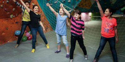Праздник для детей на скалодроме RockZona