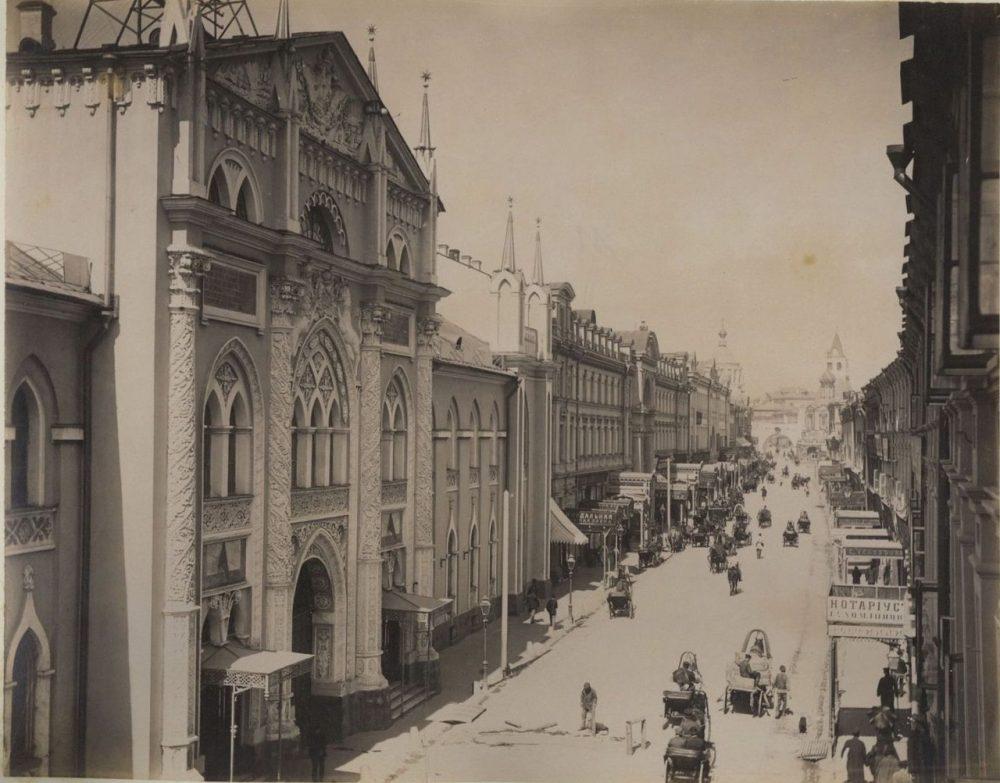 Один из первых электрических трамваев Москвы. Дореволюционная Москва на фотографиях 9 часть