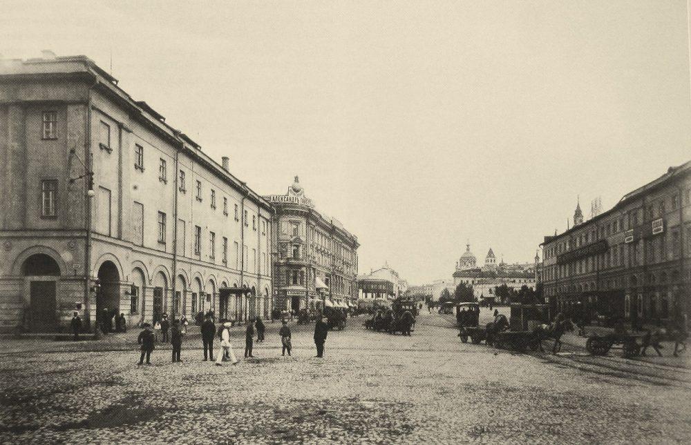 Ретро-фото Арбат 1885. Дореволюционная Москва