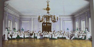 Воспитанницы и преподавательницы Николаевского женского училища. Москва.
