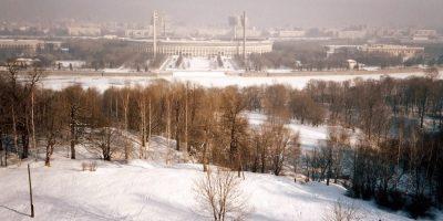 1985. Англичанин в зимнем Советском Союзе