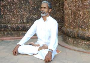 Мастер Чандран в центре «Керала»