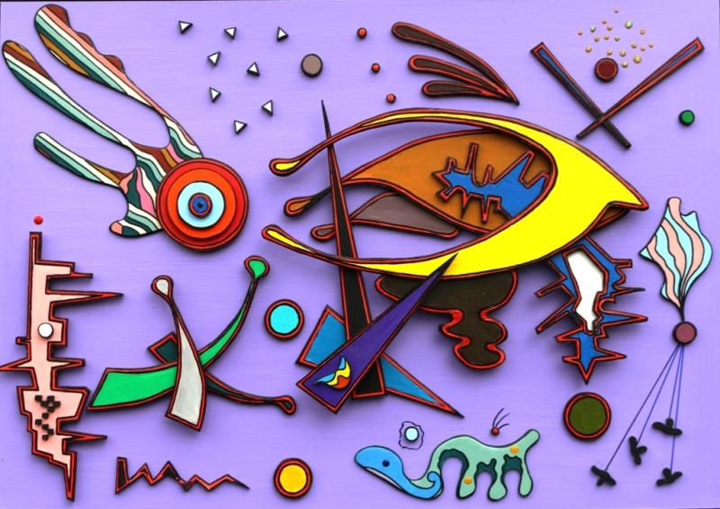 Выставка «Игра цвета и формы»