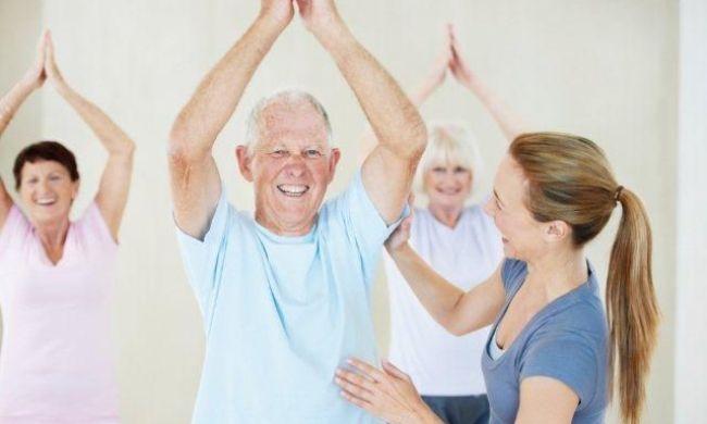 Бесплатные занятия йогой для людей пожилого возраста